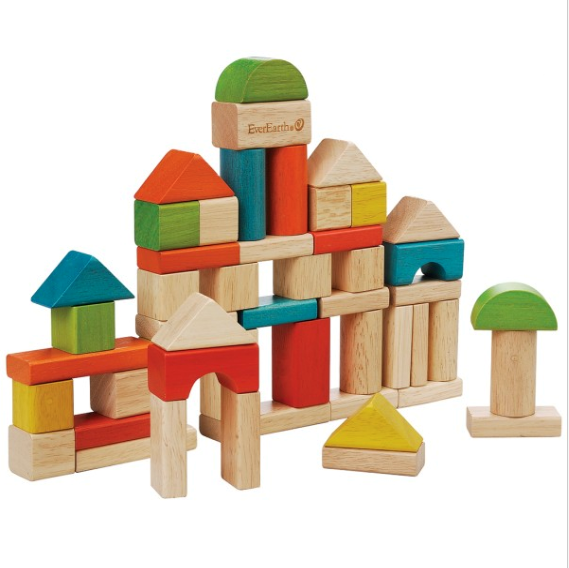 Image of   50 stk. byggeklodser