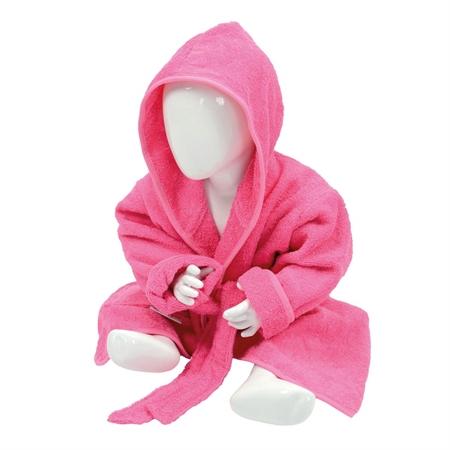 Image of Badekåbe ARTG pink med navn 3 - 13 år (cco2oj-pink-Brodering1-Linje - Copy)