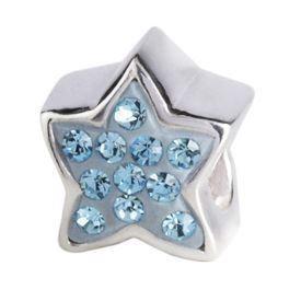 Billede af Bling stjerne blå