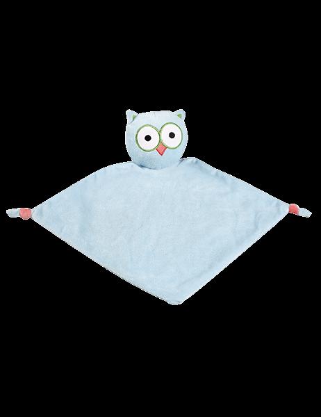 Image of   Nusseklud med navn - Ugle fra Baby Cubbies