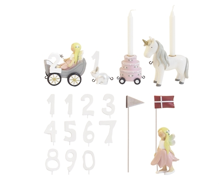 Image of   Fødselsdagstog blomsterfeer, m.11 tal