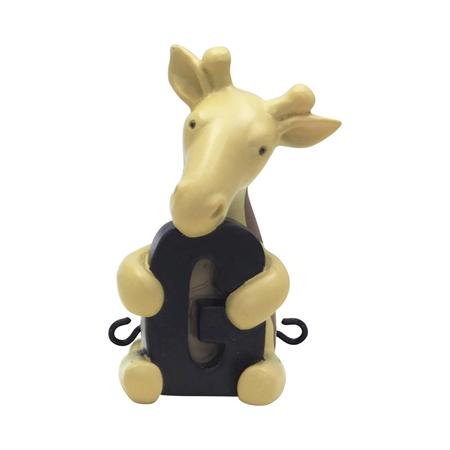Image of   G bogstav til navnetog - Giraf