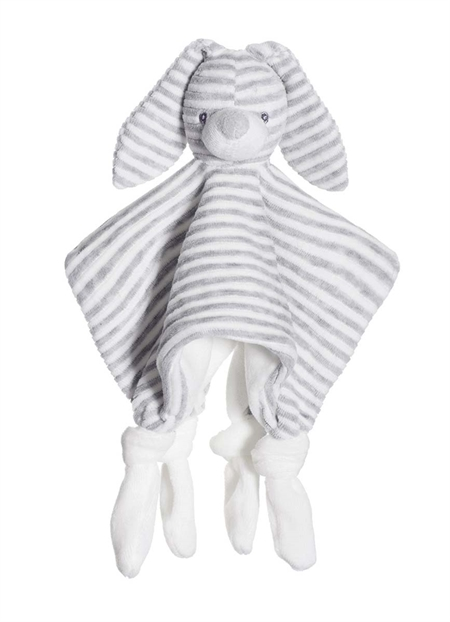 Billede af Cotton Cuties nusseklud - Grå m/u navn