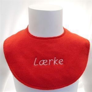 Billede af Red 41 (Rød) Pippi hagesmæk .1. stk.