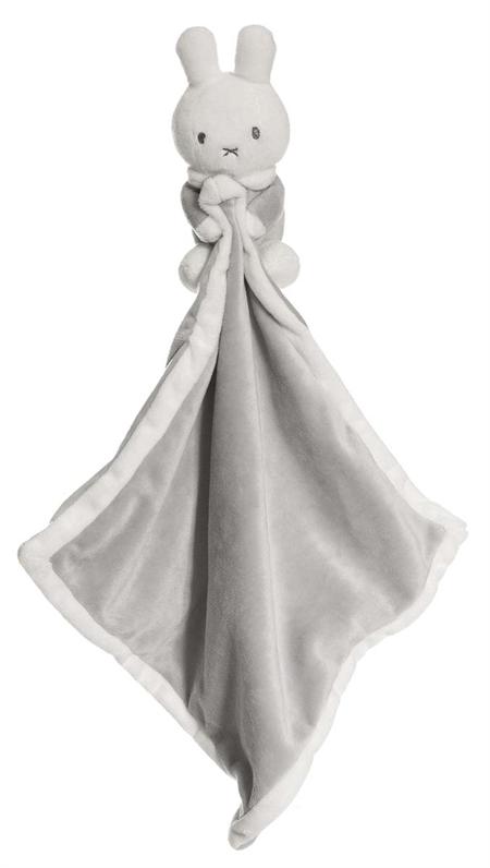 Image of   Miffy nusseklud - Grå m/u navn