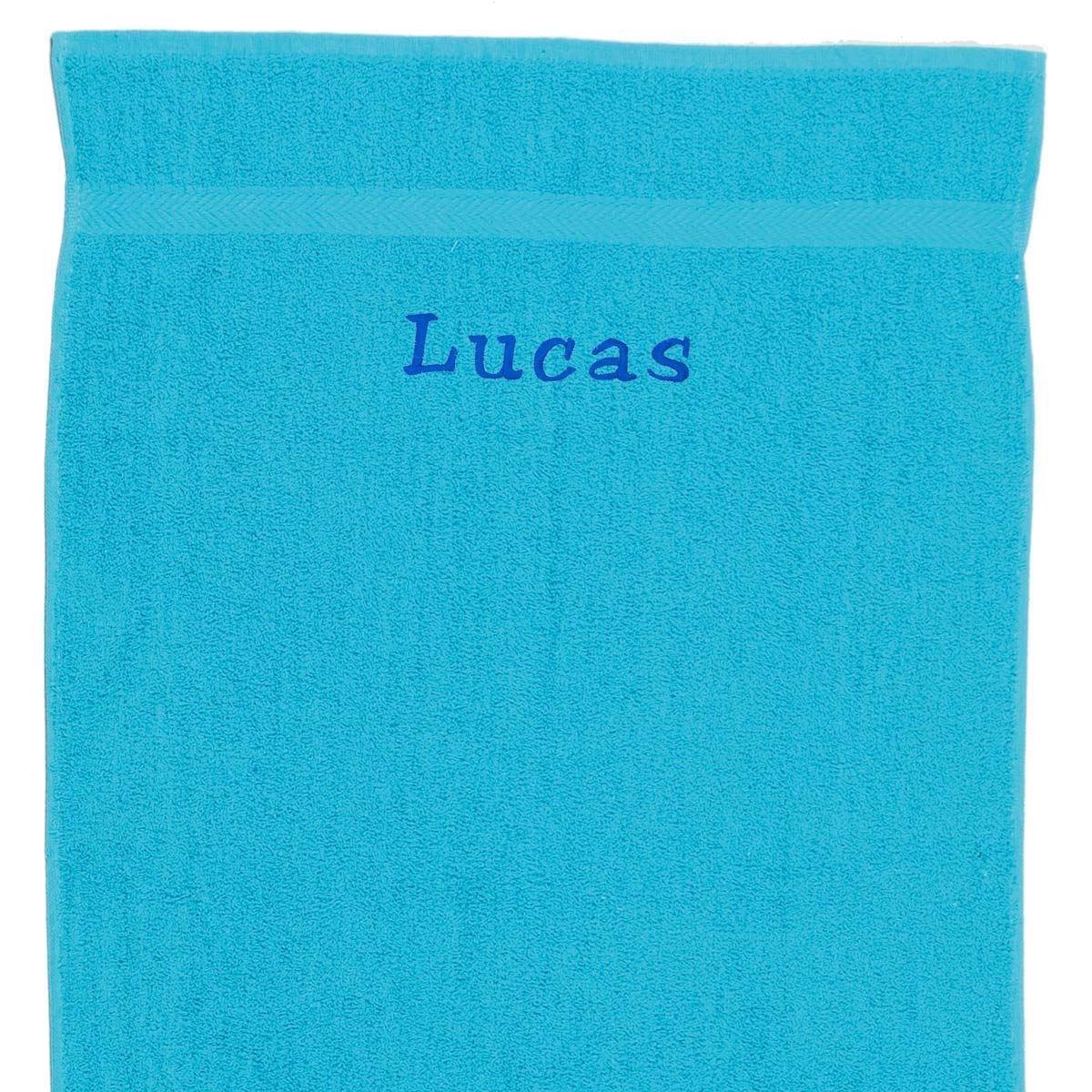 Image of   Håndklæde med navn, Ocean 70 x 130