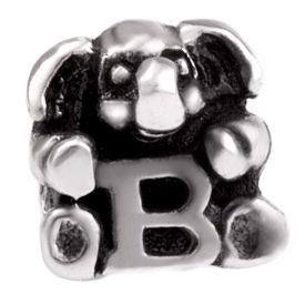 Image of   Alfabet sølv: B