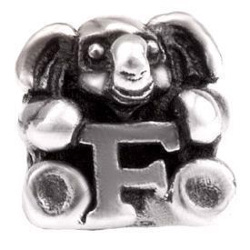 Image of   Alfabet sølv: F