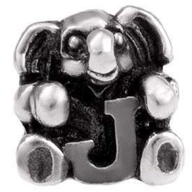 Image of   Alfabet sølv: J