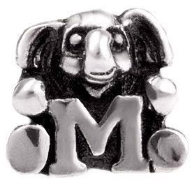 Image of   Alfabet sølv: M