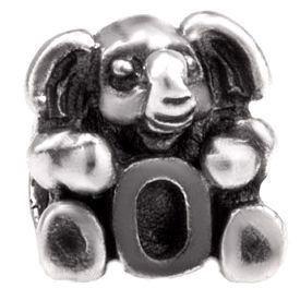 Image of   Alfabet sølv: O