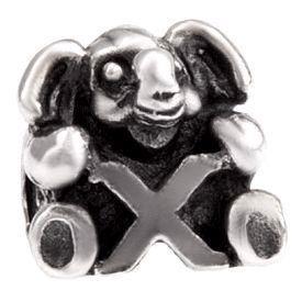 Image of   Alfabet sølv: X