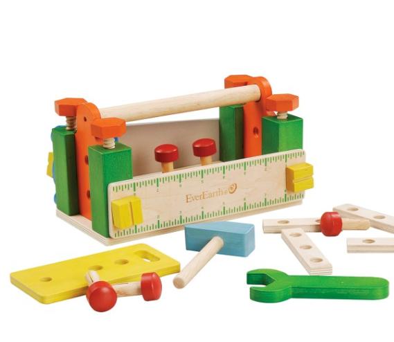 Billede af værktøjskasse/mini arbejdsbænk