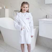 cfbf3065252 Badekåber med navn - Køb badekåber til børn med navn - Broderi