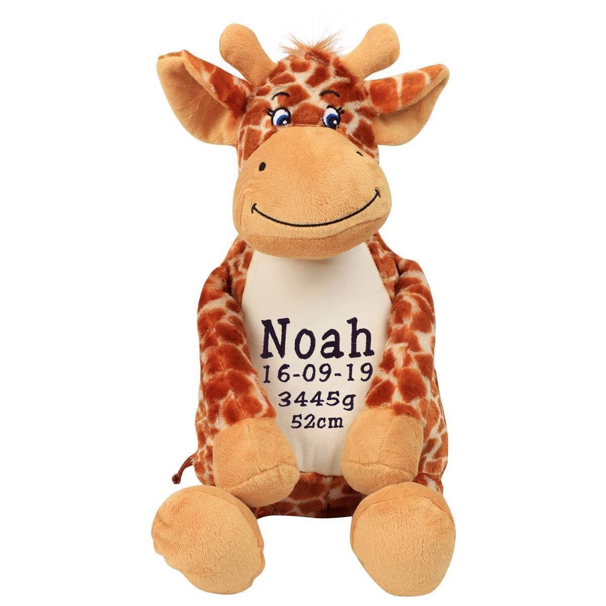 Image of   Bamse giraf med navn