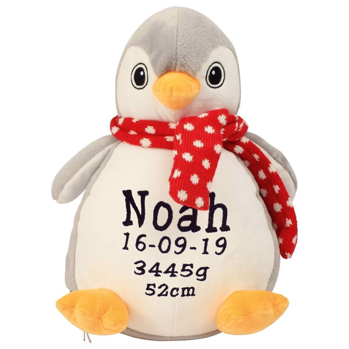 Bamse med navn - Bedårende pingvin