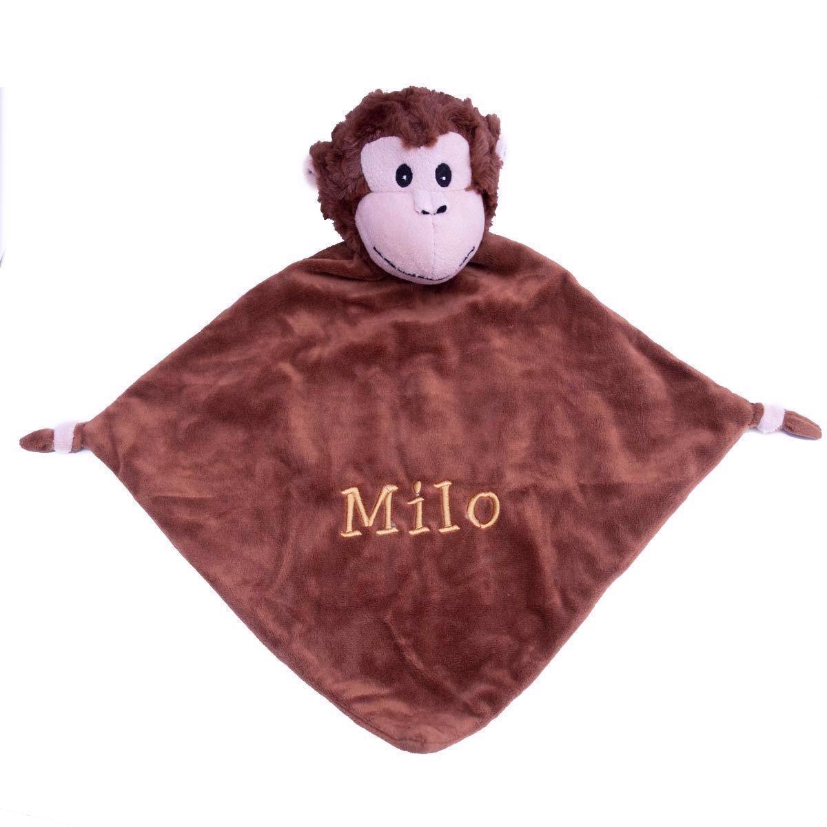 Image of   Nusseklud med navn - Abe fra Baby Cubbies