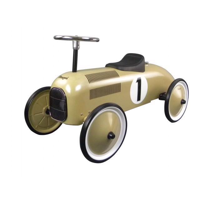 Billede af Magni - Gåbil i Messingfarvet, Classic racer