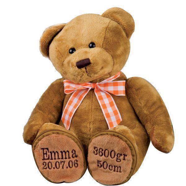 Krammebamse - personlig bamse med navn