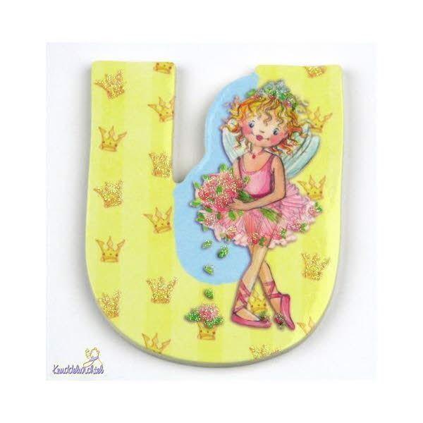 Prinsesse Lillefe bogstaver - U