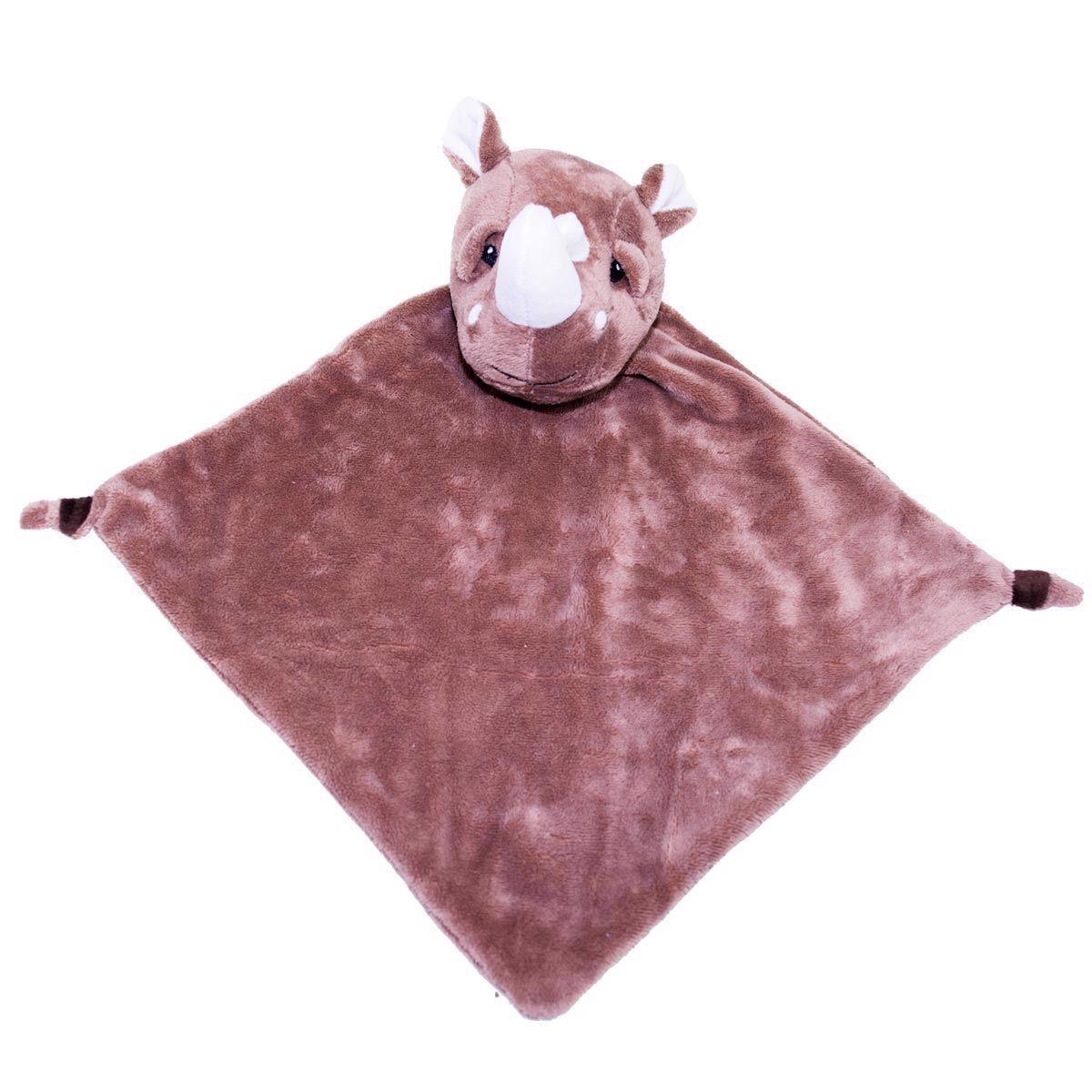 Nusseklud med navn - Næsehorn fra Baby Cubbies
