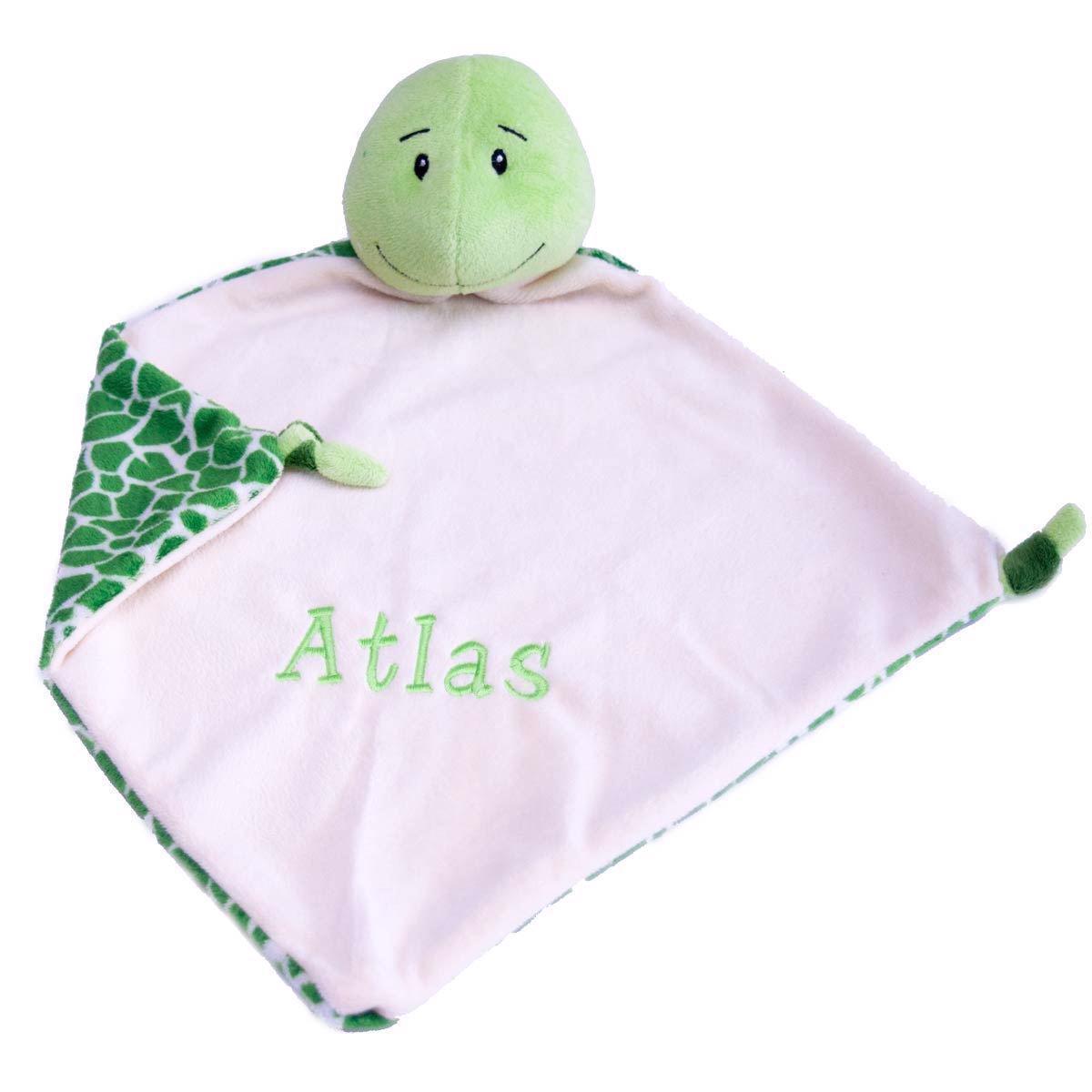 Image of   Nusseklud med navn - Skildpade fra Baby Cubbies