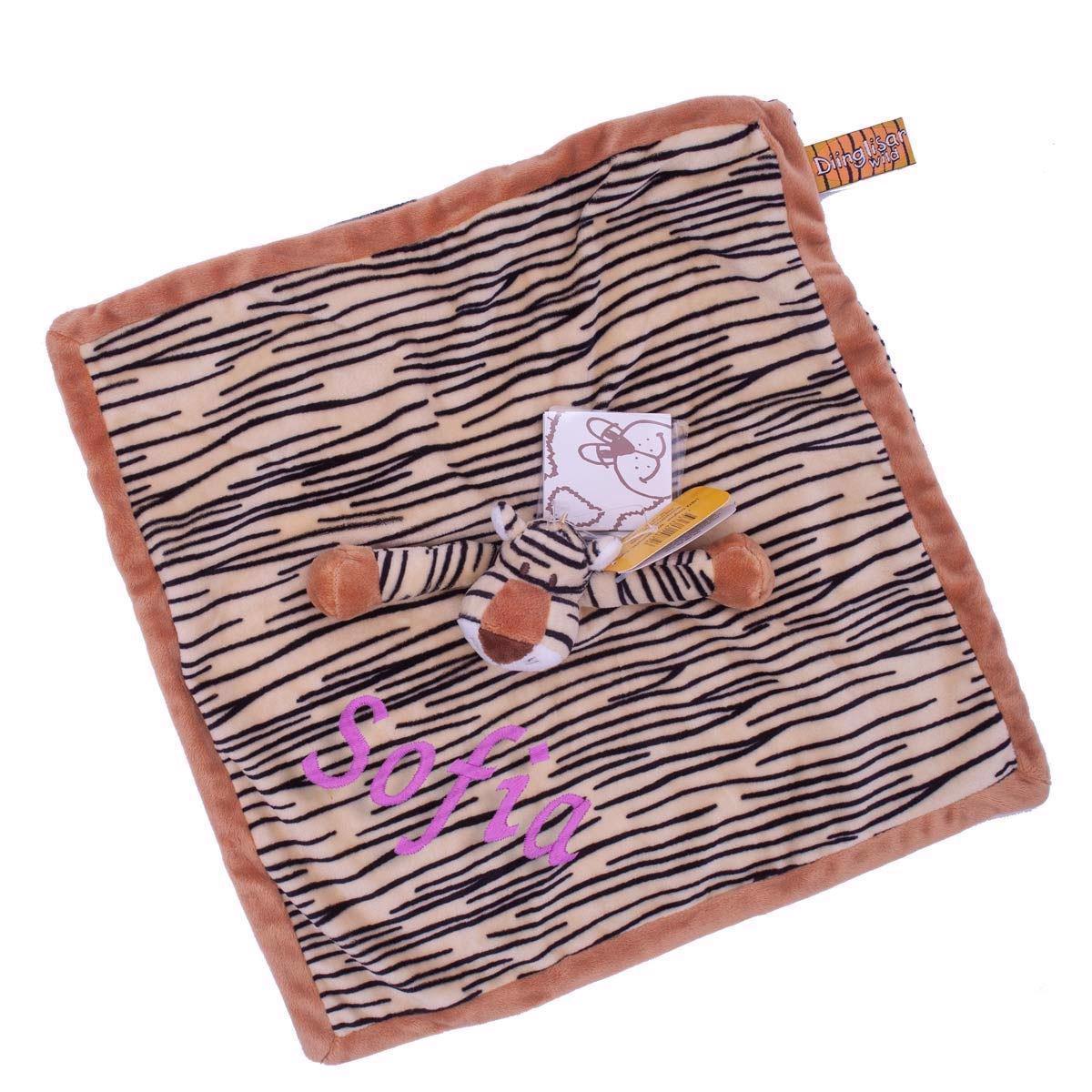 Image of   Nusseklud med navn - Tiger