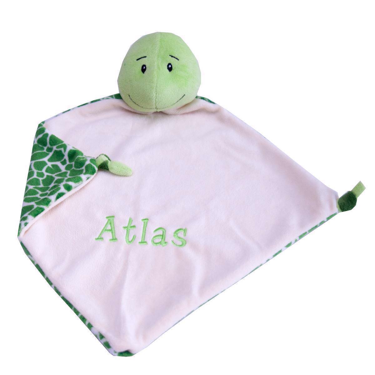 Nusseklud med navn - Skildpade  fra Baby Cubbies