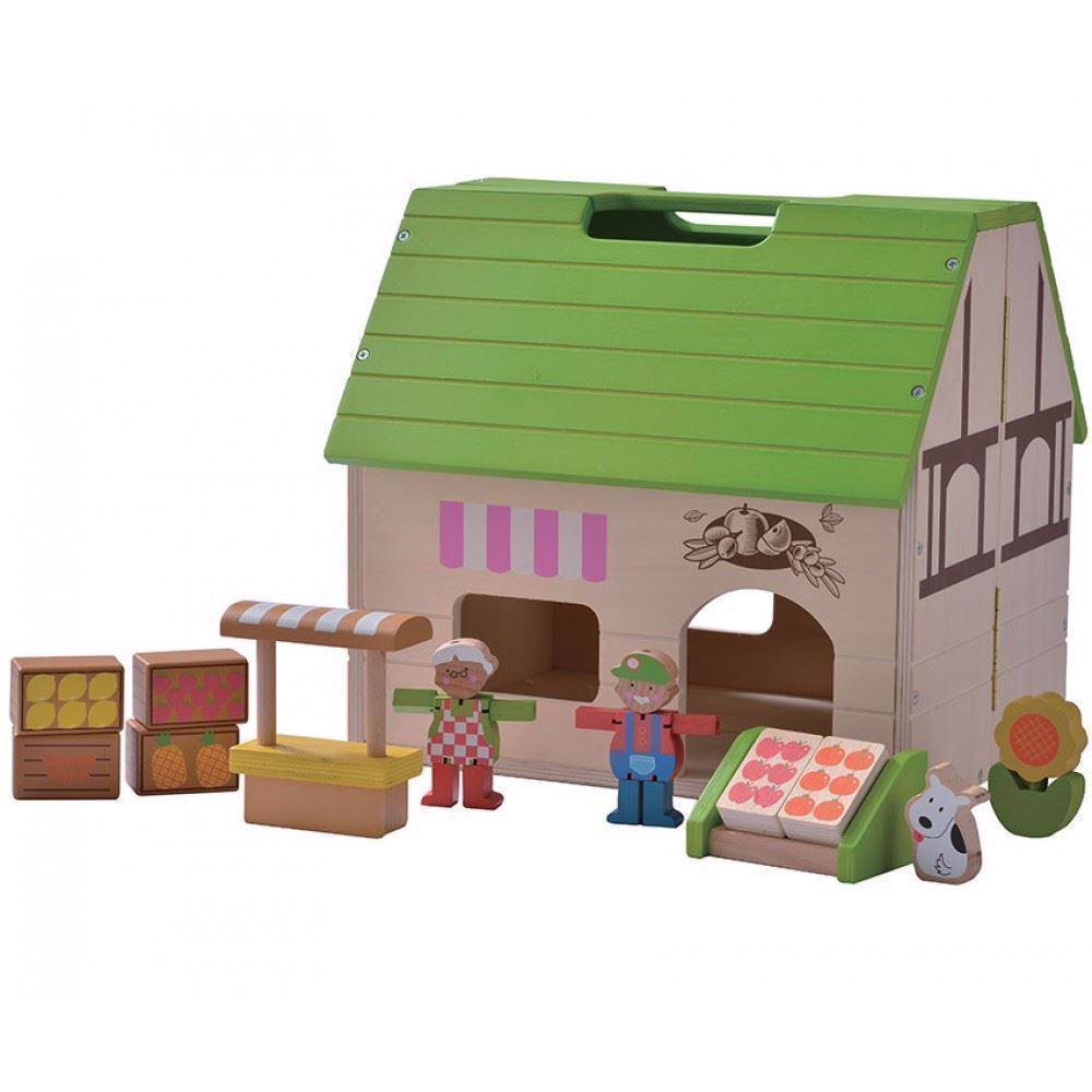 Billede af Økologisk dukkehus - forretning
