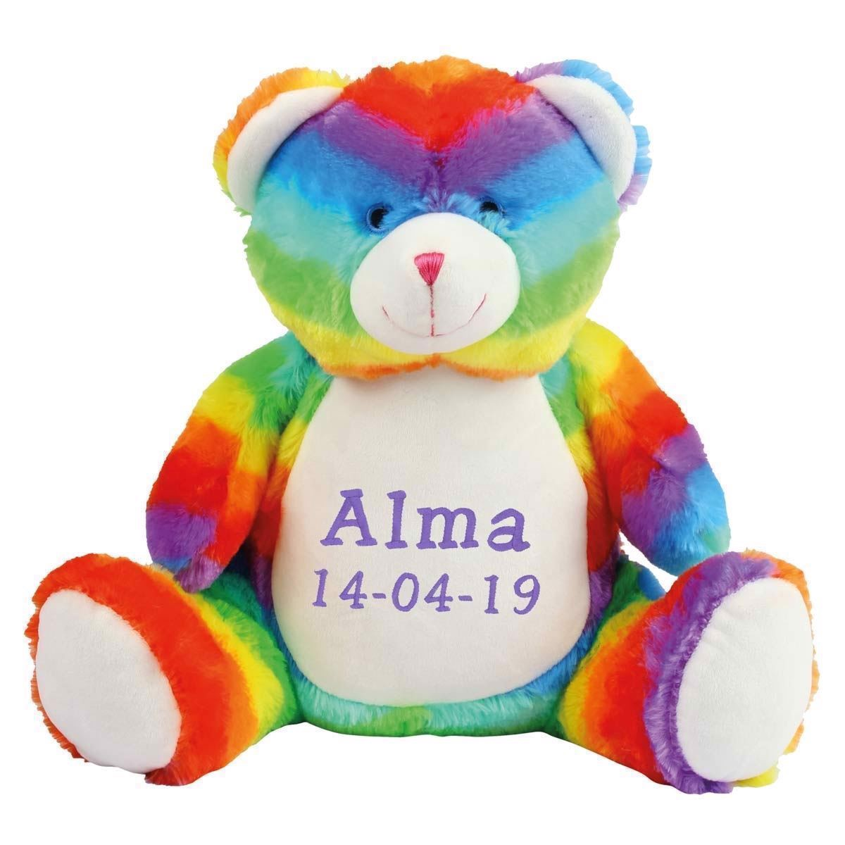 Image of   Bamse regnbue med navn