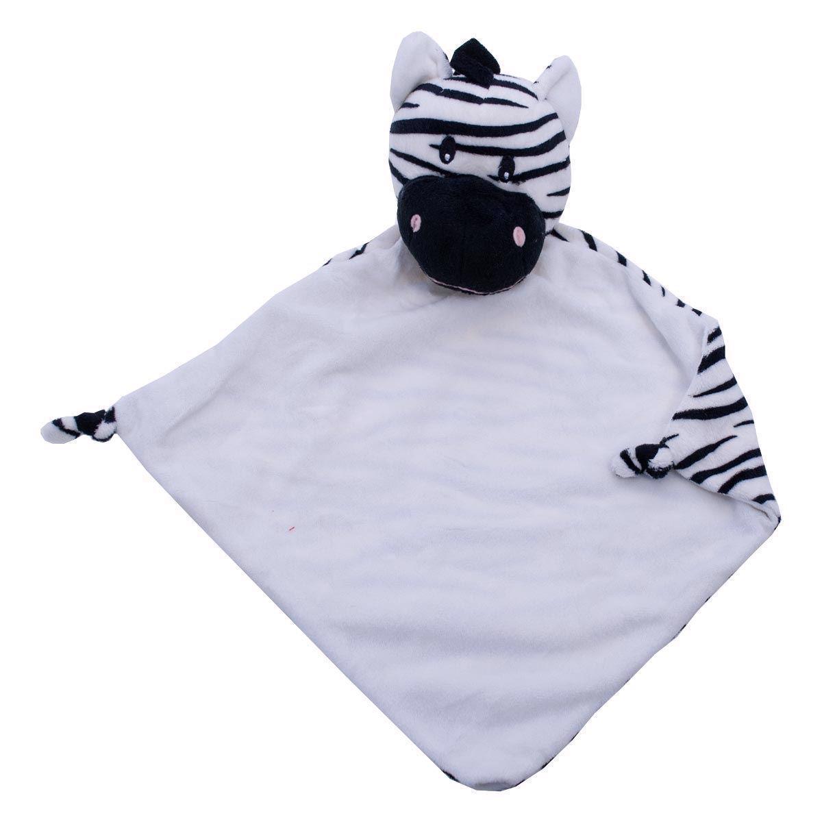 Image of   Nusseklud med navn - Zebra fra Baby Cubbies